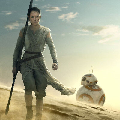 SIDESHOW Rey and BB-8 Premium Format Figure Statue Set NEW Force Awakens