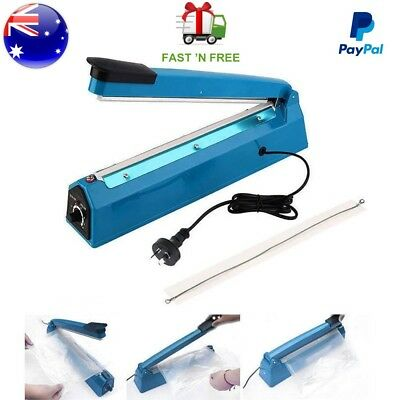 Heat Sealer Impulse 300mm Hand Sealing Machine Electric Plastic Poly Bag