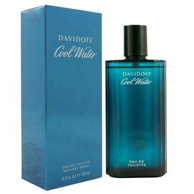 Davidoff Cool Water Man - Men 125 ml Eau de Toilette EDT Vapo Neu OVP Spray