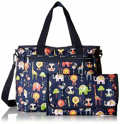 LeSportsac Women's Ryan Baby DiaperTote Bag w/ Changing Pad - Zoo Cute