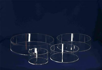 Round Acrylic Cake Spacers