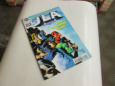 JLA 4 - Justice League of America - Semic DC comics 1999 - TBE