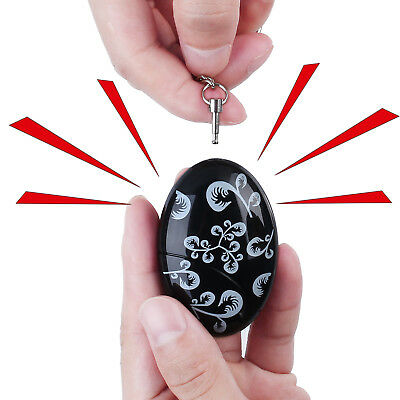 Self Defense Keychain Emergency Personal SOS Alarm Protection Device 120DB 2PCS