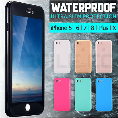 Waterproof Case Cover Shock Life Dust Proof Apple iPhone X 8 7 6 6s Plus 5 5s SE