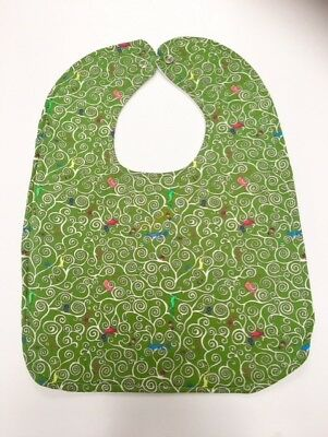 FCD4 0FF8 Baby Kids Silicone Stereo Bib Adjustable Waterproof Bibs Crumb Catcher