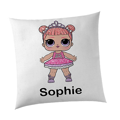 LOL Surprise Doll Centre Stage Inspired Cute Girl's Personalised Cushion Cover