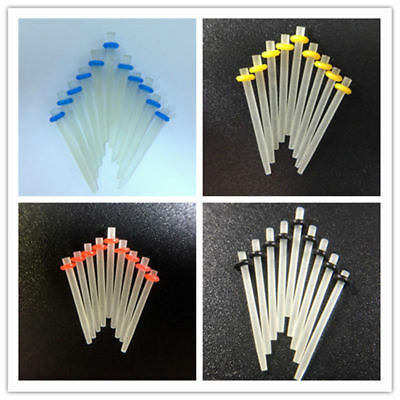 100 pcs Dental Quartz Straight Fiber Post 1.0 1.2 1.4 1.6mm Oral Teeth Dentist