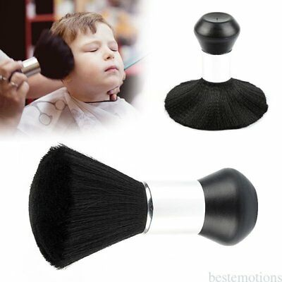 Barber Neck Duster Brush Clean Hairdressing Hair Cutting Salon Stylist Black TU