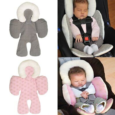 Baby Pram Stroller Car Seat Pillow Cushion Soft Head Body Support Pad Mat TU