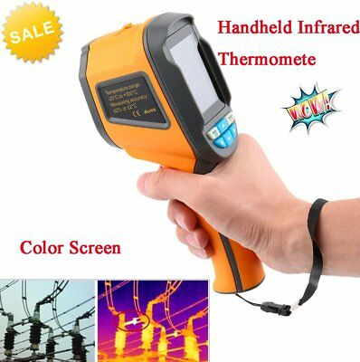 Handheld Thermal Imaging Camera Infrared Thermometer Imager Gun -HT-02D TT