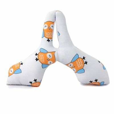 O-Mom Baby Milk Bottle Holder Pillow Easy Hands-Free Feeding Nursing - Cute Owl