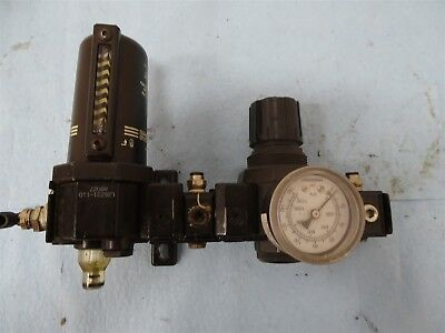 ARO Ingersoll Rand L26231-110 Pneumatic Air Lubricator w/Aro Regulator