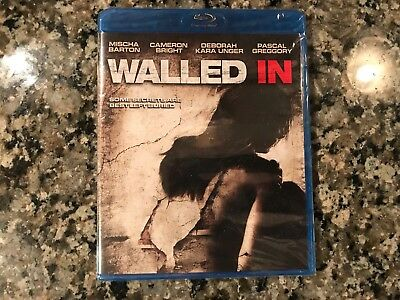 Walled In New Sealed Blu-ray! 2009 Thriller! (See) Mirrors & 13 Ghosts