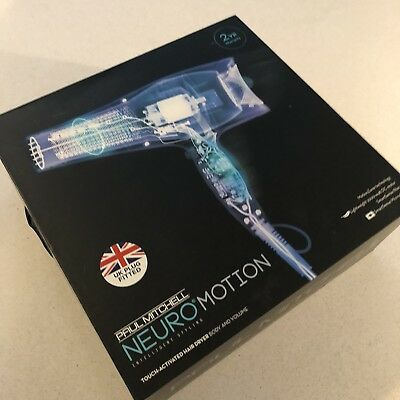 Paul Mitchell New Boxed Neuro Motion Hairdryer Touch Activated