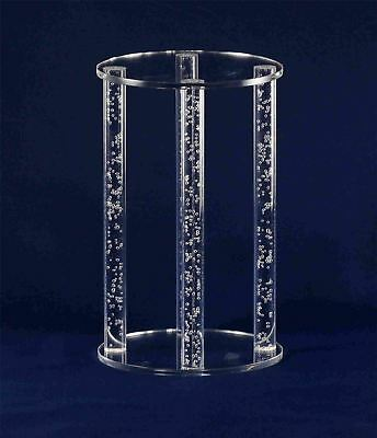 Bubble Four Pillar Round Acrylic Cake Stand / Separator
