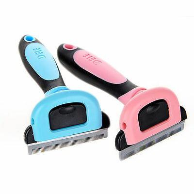 Paws & Pals Pet Dog Cat Hair Brush Grooming Comb For Shedding Rake Trimming Tool