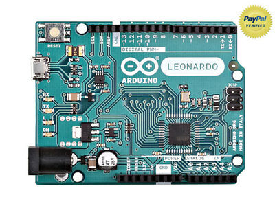Arduino Leonardo W/ Headers - Refurbished/Repackaged - Genuine - FREE USB Cable