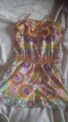 Girls River Island Shorts Jumpsuit Size 9 Years