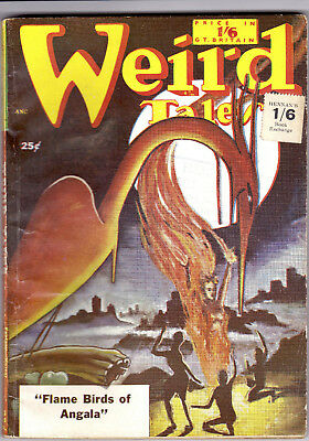 WEIRD TALES July 1951(Brit Ed)  August Derleth, Margaret St. Clair, Talbot Johns