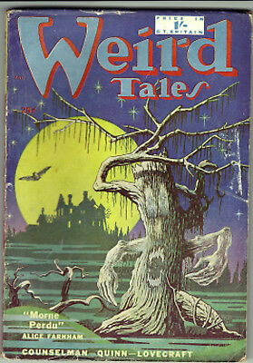 WEIRD TALES March 1952(Brit Ed) H.P. Lovecraft, Seabury Quinn,Clark Ashton Smith