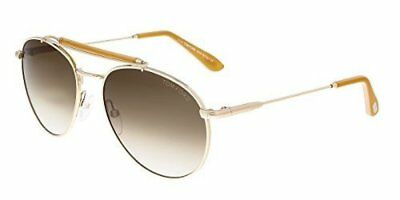 50548c7d1e NEW TOM FORD Sunglasses FT0338 - 28F -Shiny Rose Gold Gradient Brown ...