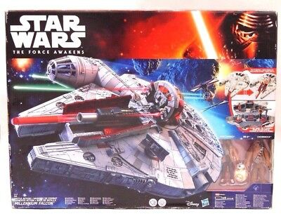 Star Wars The Force Awakens Battle Action Millennium Falcon mit Licht und Sound