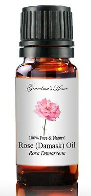 Rose Essential Oil - 5 mL - 100% Pure and Natural - Free Shipping - US Seller