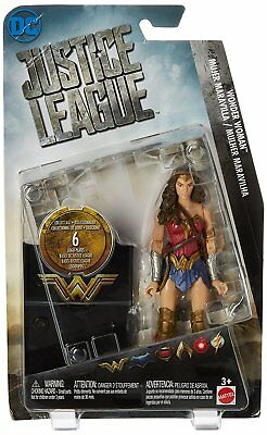 DC Comics Justice League Wonder Woman Action Figure, 6""