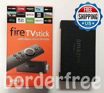 Fire TV Stick with Alexa Voice Remote (2nd Gen) + Amazon Ethernet Adapter (NEW)