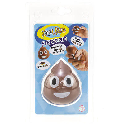 GET IT NOW Stress Ball Poo in Brown