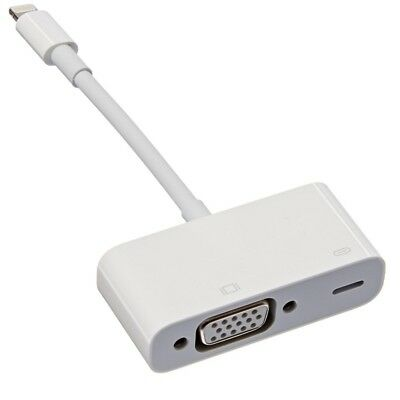 Apple MD825AM/A Lightning To VGA Adapter For Iphones Ipads