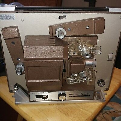 Bell & Howell Autoload 8mm Movie Projector Vintage 356A