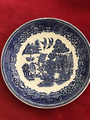 Woods Ware Willow Saucer