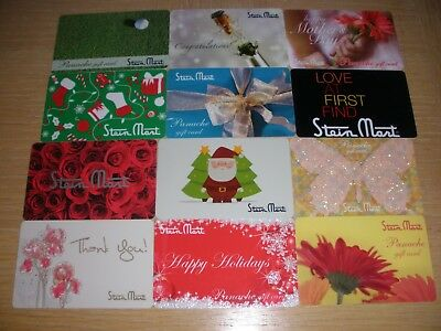 Stein Mart   12 different new collectible gift cards