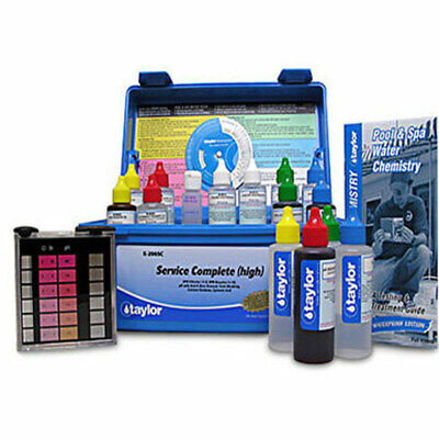 Taylor Service Complete Water Testing Kit For Swimming Pool & Spa  K - 2005C