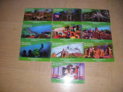 Disney Fast Pass   10 different new collectible gift cards
