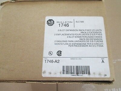 Allen-Bradley 1746-A2, SLC 500 fixed 2-Slot I/O Expansion Chassis, Series A