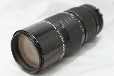 Canon Zoom New FD 80-200mm 1:4 Lens **For Repair** #F011f