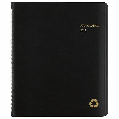 At-A-Glance 70951G0513 Recycled Weekly/monthly Classic Appointment Book, 6 7/8 X