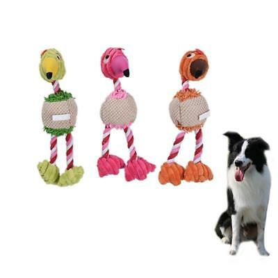 Funny Pet Dog Plush Toys Bird Duck Shape Puppy Cat Chew Squeaker Squeaky Toy