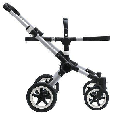 Bugaboo Buffalo Pushchair / Stroller Chassis And Base Fabric - Aluminium / Black
