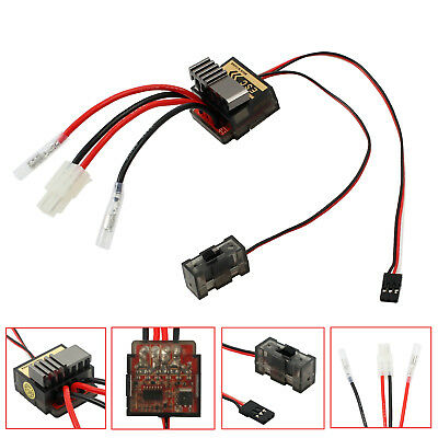 320A ESC Speed Controller Brushed Brush For RC 1/8 1/10 Car Truck Boat Reverse