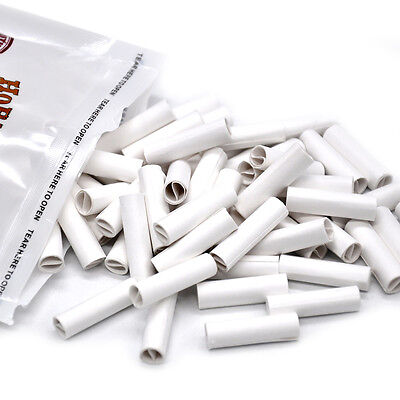 100 X HORNET PRE ROLLED TIPS Natural Prerolled for Cigarette Rolling Papers-7MM