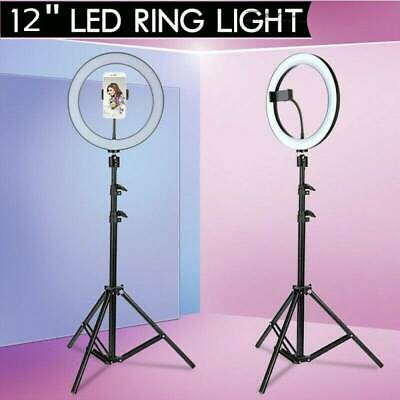AU STOCK Dimmable Diva 12''5500K LED Ring Light For Video Photo With Light SAA