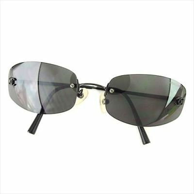 a7436ae306 CHANEL SUNGLASSES Black Woman unisex Authentic Used T6041 - £162.00 ...