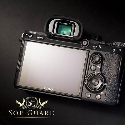 SopiGuard Tempered Glass 9H Japan Asahi Screen Protector for Sony A7RIII / A7III