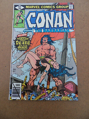 Conan The Barbarian 100 . Giant Size 52 pg / Death Of Belit . Marvel 1979 . VF