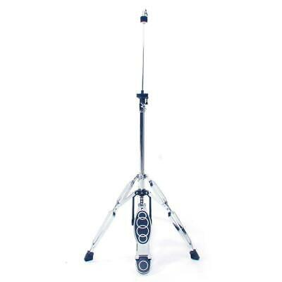 New Drum HI-HAT Cymbal Stand Double Braced Chrome High Hat