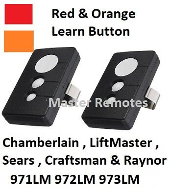 971LM Liftmaster SEARS Craftsman One Button Security + Remote 390mhz 3 Button