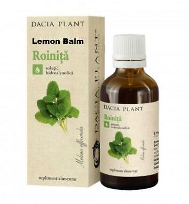 Lemon Balm Tincture Melissa Officinalis Max Strength 26% Pure Natural Extract